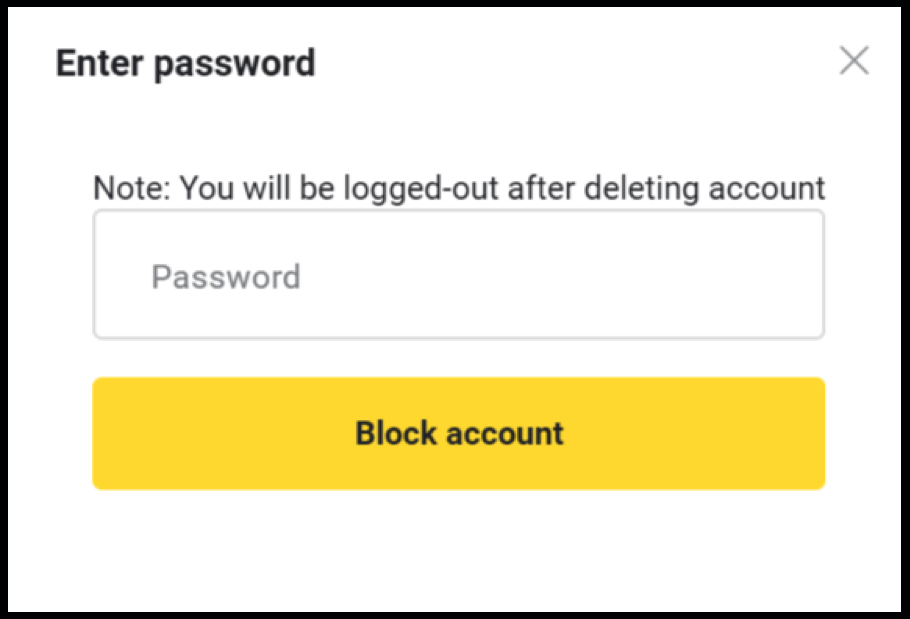 How to Close & Block Binomo Account?