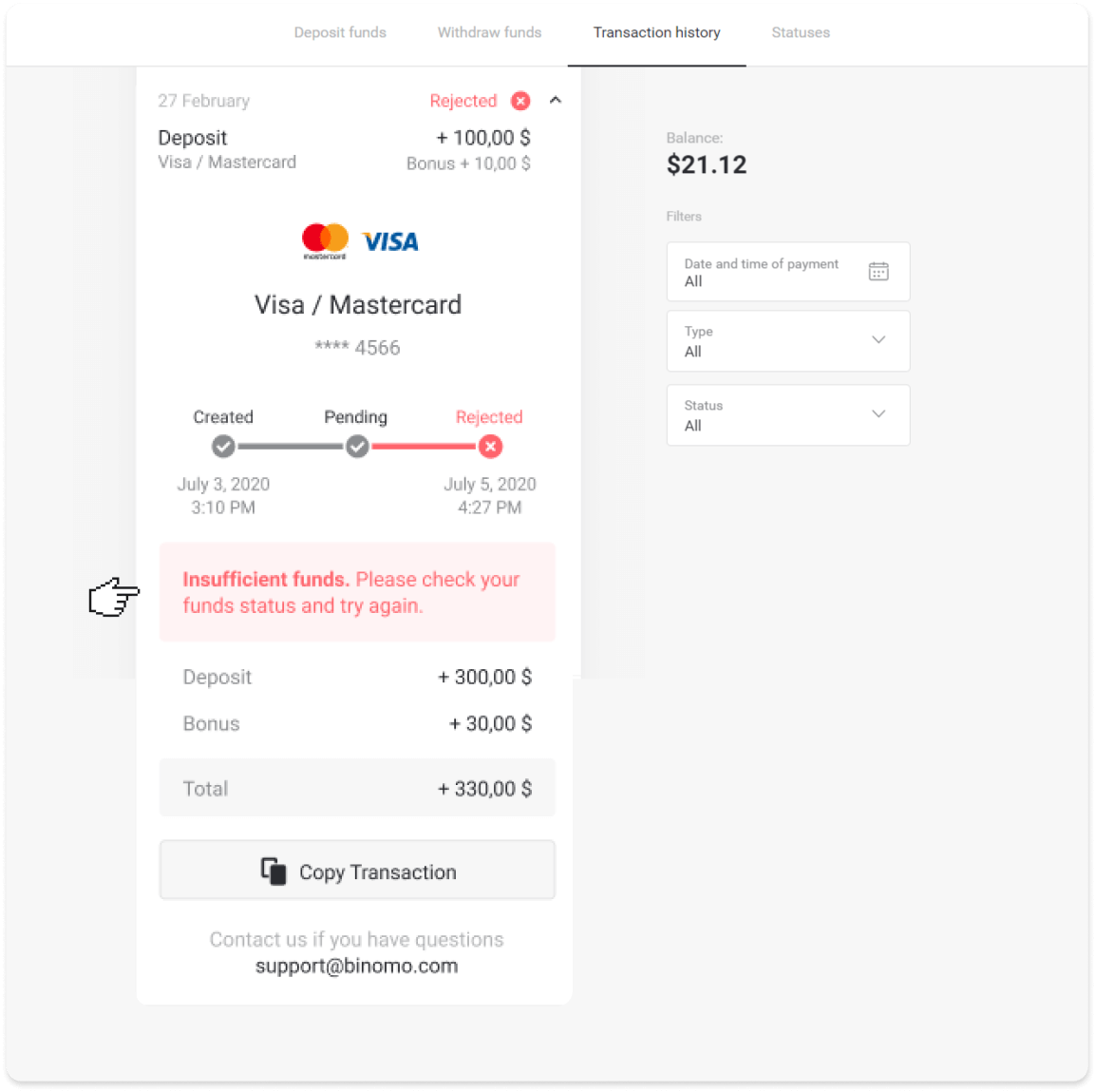 How to Login and Deposit Funds in Binomo